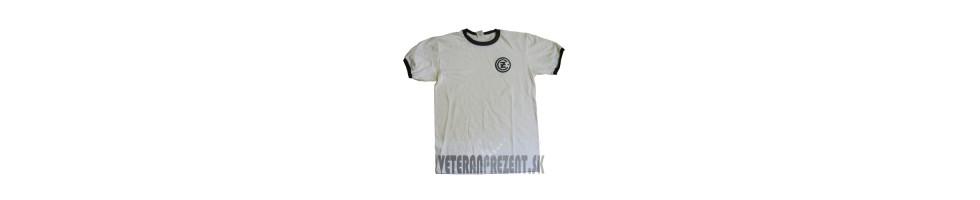 Tričko ČZ čierno-biele